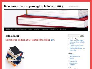 Bokrean.nu – din genväg till bokrean 2014 | Årets bokrea - http://bokrean.nu